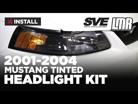 1999-2004 Mustang SVE 01-04 Style Headlight Kit - Install & Review