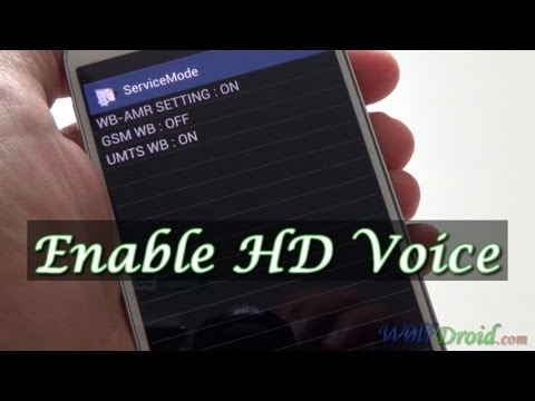 How to Enable HD Voice for Samsung Galaxy S4