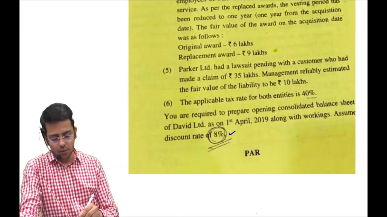 Analysis of CA Final FR New Syllabus Nov'19 paper by CA Sumit Sarda