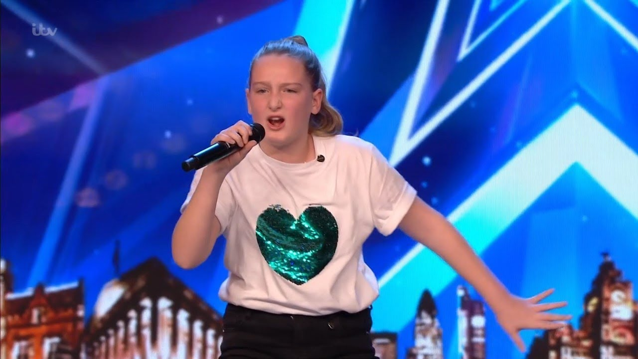 Britain's Got Talent 2019 10 Year Old Singer Giorgia Borg Wows The Audience Full Audition S13E04