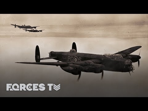 Shot Down In A Lancaster And Captured By The Nazis | Forces TV