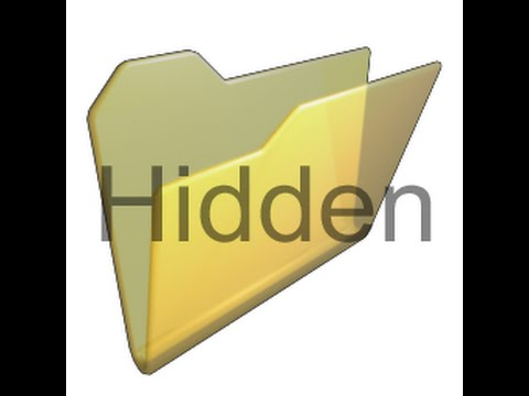 How to Hide and Unhide or View/Show a hidden folder and file in Windows 10