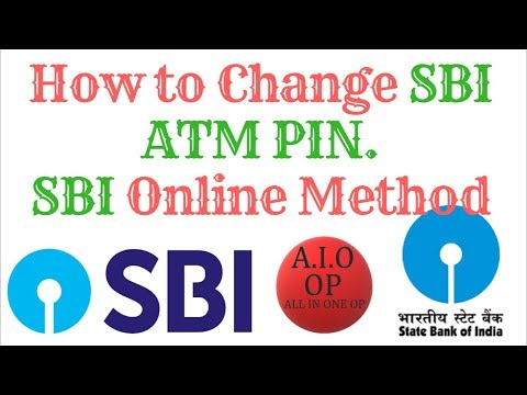 How to Change SBI ATM PIN. Online SBI Method