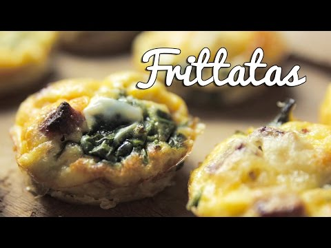 FOOD ON THE MOVE | Mini Spinach and Chorizo Frittatas -