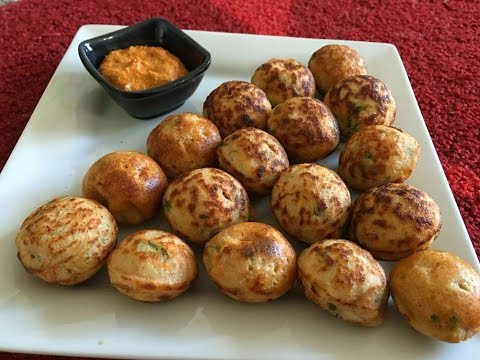 Instant Oats Ponganalu   Healthy Breakfast Recipe - By Sritha's Kitchen