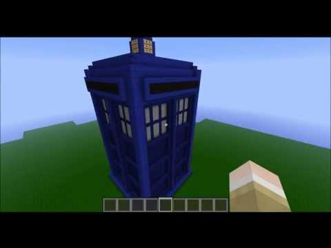 Minecraft: TARDIS Build (Exterior and Interior)