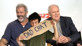 DAD CHAT with Mel Gibson & John Lithgow