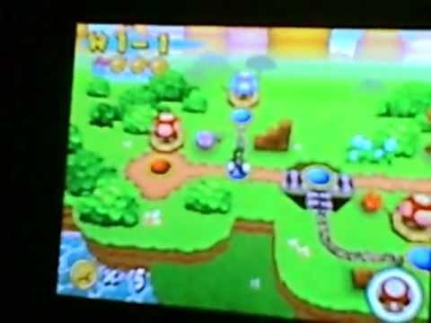 New Super Mario Bros. DS cheats