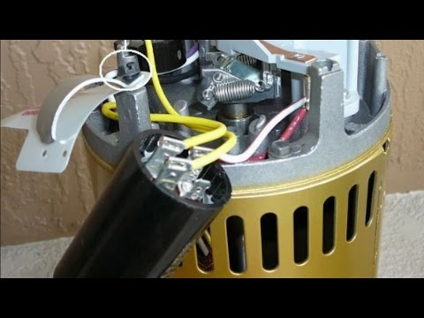 Pool Pump Humming Won't Start Most Common Cause The Start Capacitor