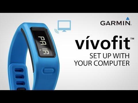 Garmin vívofit: set up with your computer