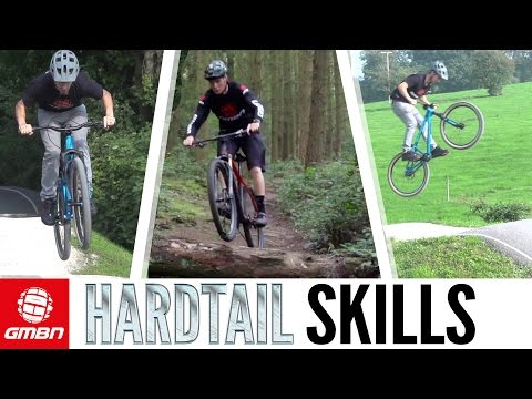 Vital Skills To Ride A Hardtail Faster | GMBN Hardtail Week
