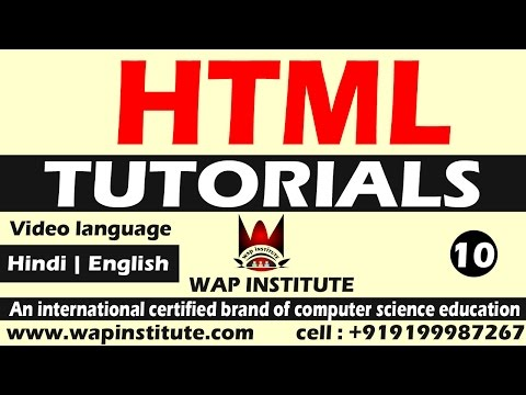 html button and hr tag