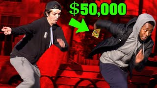 $50,000 Lottery Prank