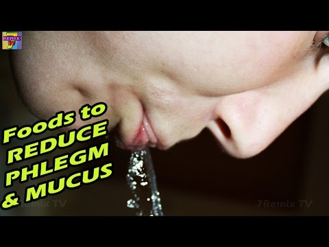 Foods to Eat to Reduce Mucus and Phlegm EASILY
