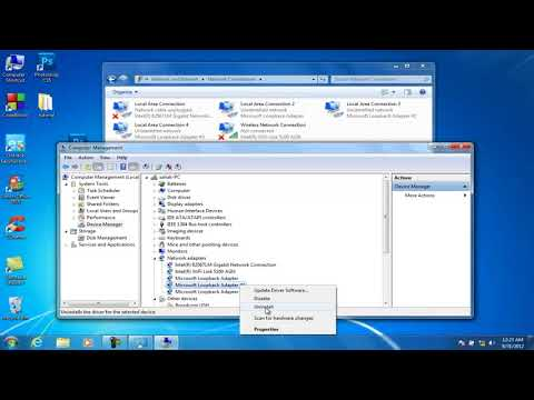 How To Delete Multiple Local Area Connection in Windows XP 7 8 8 1 10