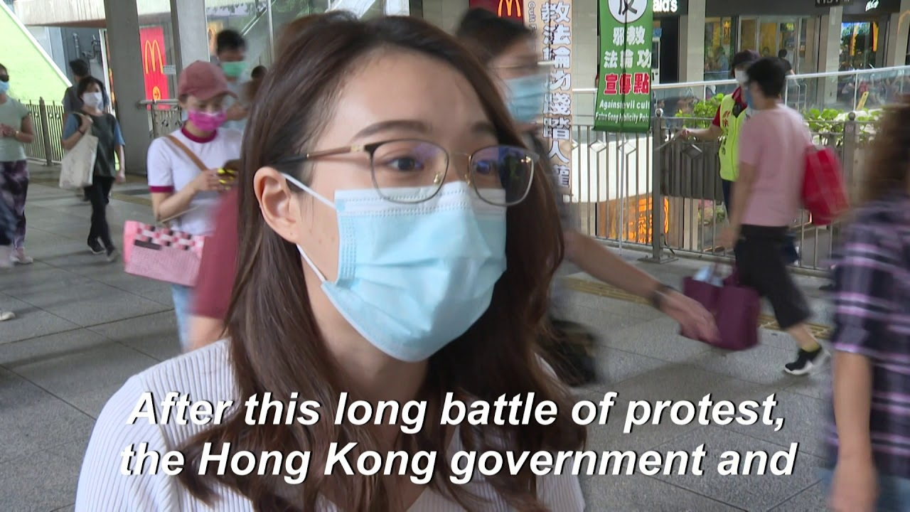 Hong Kongers pessimistic after passage of feared national security law
