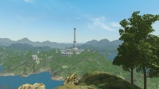 Skyblivion DEV Stream - Imperial City Isle Landscaping By ClefJ(liking the stream is appreciated)