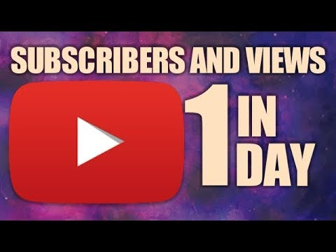 How to Increase Youtube Subscribers & Views In 1 Day l Grow Youtube Channel 👍