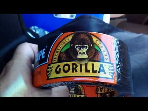 Gorilla Tape review used on vehicle truck car applications