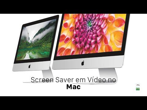 Screen Saver em Vídeo no Mac • oBig.com.br