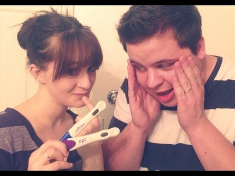 LIVE PREGNANCY TEST WITH A TWIST!!! - TELLING BRYAN I'M PREGNANT - The Bumps Along the Way