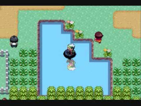 Pokemon Emerald catching Corphish