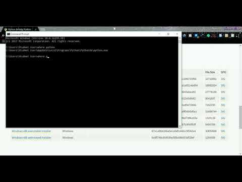 Installing Python 3.6x and TensorFlow on Windows 10