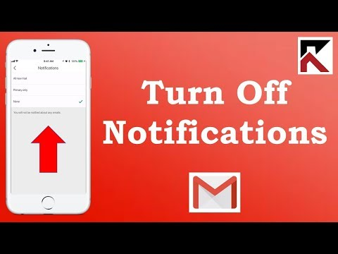 How To Turn On Email Notifications Gmail iPhone