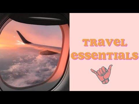 WHAT I PACK + TRAVEL ESSENTIALS ✈️🌍