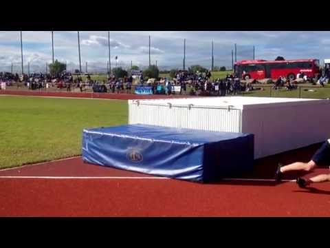 Front flip over 3m High Jump Mat!!!