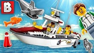 Lego City Fishing Boat MOC | Daikhlo