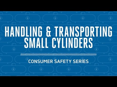 Propane Safety: Handling & Transporting Small Cylinders