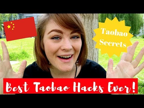 THE BEST TAOBAO SHOPPING HACKS EVER