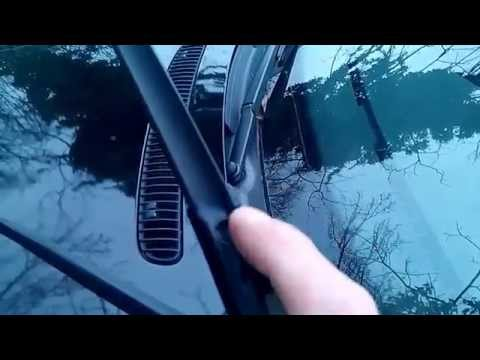 HOW TO replace BMW E46 3-Series wiper blades