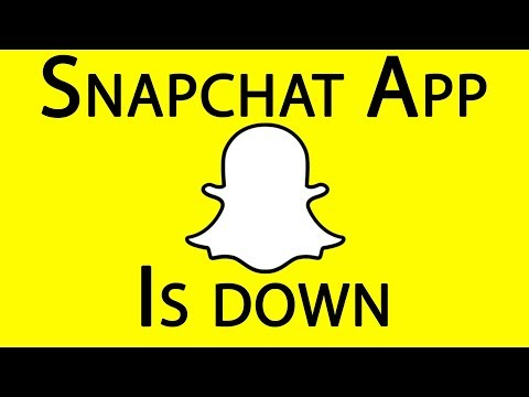 Snapchat APP is down worldwide! February 2018 (Can't send or receive snaps or login!)