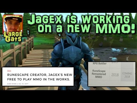 Jagex is working on a new MMORPG!