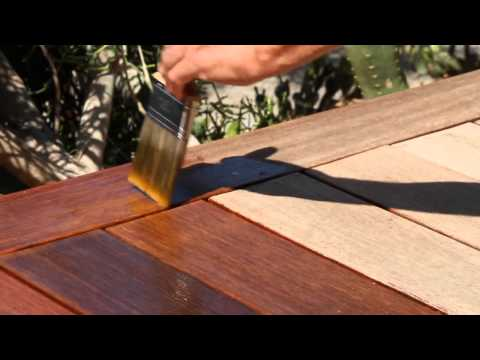 How to apply Penofin Hardwood Oil Stain