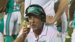 Dolphins Offensive Line Coach Resigns After Video Shows Him Snorting White Powder