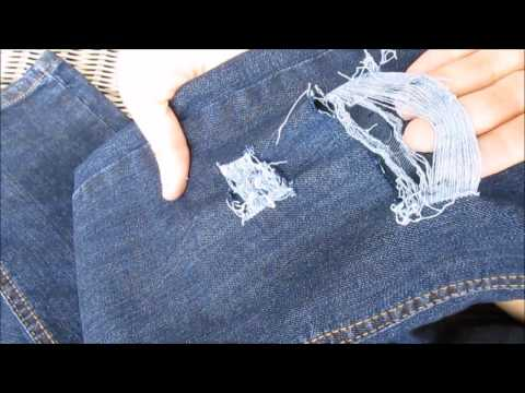 VERY SIMPLE Ripped Jeans