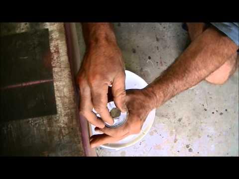 Watch what happens when a magnet falls thru a copper pipe/aluminum pipe.