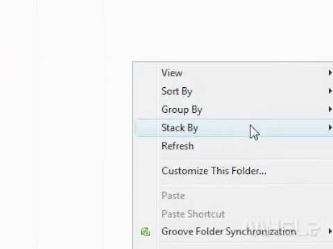 How to stack files and folders by Size in Windows