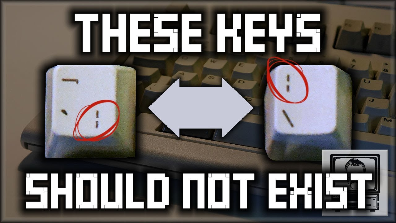 These Keys Shouldn't Exist | Nostalgia Nerd