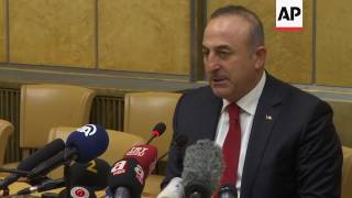 Turkish FM on hopes for further Cyprus talks