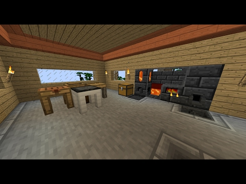 Minecraft: Tinkers Construct How to make Lavawood/Firewood and put Lava into Smelter