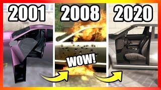 Evolution of CAR DOORS LOGIC in GTA Games (2001-2020)