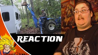 Psycho Dad Rips Apart Trailer (McJuggerNuggets) REACTION!!!