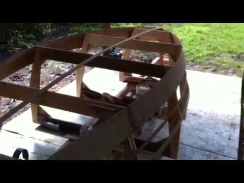Building the Lone Star Rowboat Part Two