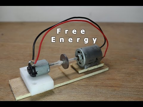 How to make a free energy Generator Model using simple DC Motor