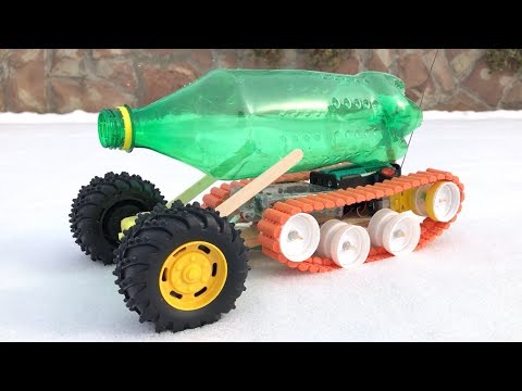 How to Make a Tank / Car - Remote Controlled Tank