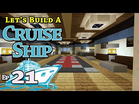 How To Build A Cruise Ship :: Minecraft :: E21 :: Z One N Only